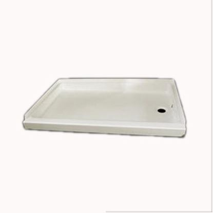 "Picture of Specialty Recreation  Parchment 24""x 36"" Left Hand Drain Shower Pan SP2436PL 10-1831"